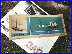150 LILLA DAN TRAINING SHIP KIT by Billing Boats NEW AND SEALED
