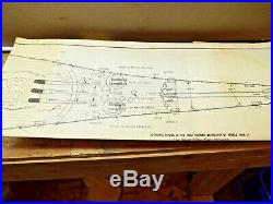 1960'S USS Missouri THE BIG MO Radio Controlled Ship Sterling Model Kit