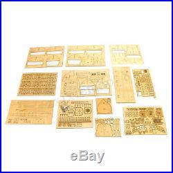 196 Scle 3D Wooden Silbot Ship Bot Model Kit DIY Home Decor Toy Gift US