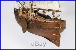 #1M mk0301 Deck-Boat St. Gabriel Wooden Kit wood ship 1/72 model master korabel