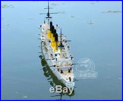 1/200 Scale Russian Cruiser Varyag 1902 Assembly Ship Model & RC Upgrade Set