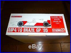 1/20 McLAREN MP4/10 CRUISE SHIP VERSION 1995 BRAZIL by STUDIO 27 ST27-FK2066