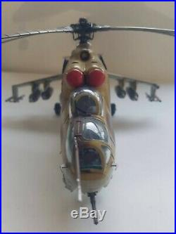 1/48 Revell MIL Mi-24d Hind Pro Built Ready To Ship