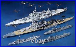 1/700 Tamiya 25422 BATTLE OF MALAYA 5 Ships & 19 airplanes plastic model kit