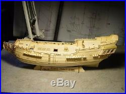 1/96 black pearl Pirates ship wooden model Deluxe Edition