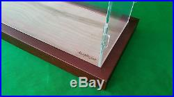 25 x 10 x 30 Inch Table Top Clear Acrylic Display Case for Tall Model Ships