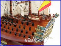36 Santa Ana Handcrafted Model Ship Painted
