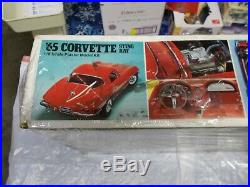 65 Corvette Sting Ray 1/8 Scale Monogram With Free Shipping