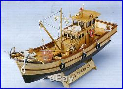 7-Tonnage Fishing Boat(1/25 Scale) Wood Model Kit Wooden Ship Model