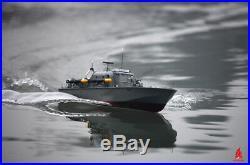 ARKMODEL 2.4G RC Perkasa Ship Torpedo Boat 132 Scale Model Vosper Kit Warship