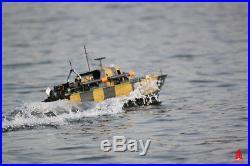 ARKMODEL 2 4G RC Perkasa Ship Torpedo Boat 1/32 Scale Model Vosper