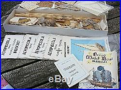 Aeropiccola Indiscret Ship Model Kit Vintage