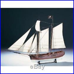 Amati Adventure Pirate Ship Wooden Model Kit 1446
