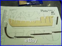 Amati Pinta 17 Wooden Ship Model Kit Historic Series Columbus' Caravel 1492