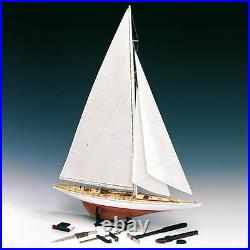 Amati Rainbow Americas Cup 1934 J Class 180 Scale Wooden Model Ship Kit