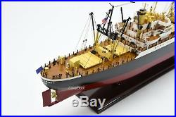 American Scout C-2 Cargo Ship Handmade Wooden Ship Model 35