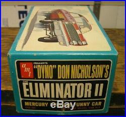 Amt #6766 Dyno Don Nicholson Eliminator II Funny Car Free Shipping