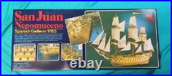 Artesania Latina San Juan Nepomuceno Model Ship Kit Scale 1/90 Scale Brand New