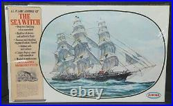 Aurora Model Kit Ship 1966 1/118 The Sea Witch Clipper FACTORY SEALED