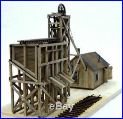 BANTA 6123 O On3 On30 LITTLE CREEK MINING Model Building Wood Kit FREE SHIP