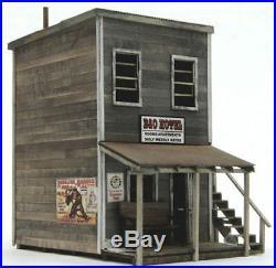 BANTA 6131 O ON30 SCALE B&O HOTEL Model Railroad Structure Wood Kit FREE SHIP