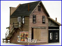 BANTA 6153 O SCALE ON30 OAKBORO HAY GRAIN Model Railroad Building Kit FREE SHIP