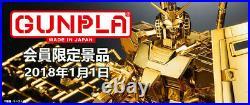 Bandai MG Gundam Base Limited RX-78-2 Ver. 3.0 Gold Coating US Free Shipping