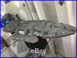 Battlestar Galactica TOS Original Ship Model Kit with lights