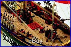 Beautiful, Popular Wooden Model Ship Kit by Mamoli the Swift