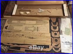 Billing Boats KONGESKIBET DANNEBROG vintage model ship kit #410 | Model Kits Ships