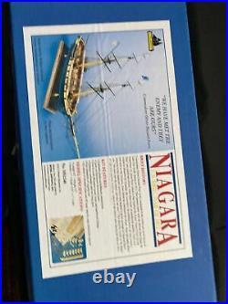Brig Niagara Model Ship Kit MS2240 New Model Shipways 164