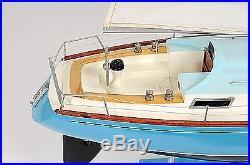 Bristol Yacht Sailboat 29.3 Wood Model Ship Assembled