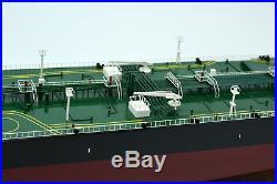 British Crude Oil Tanker 40 Handmade Wooden Ship Model