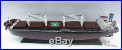 Bulk Americas Wooden Ship Model Display Ready