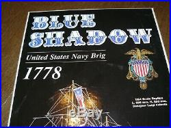 C. Mamoli 164 Scale Blue Shadow Ship Model Kit