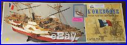 C. Mamoli, L'Orenoque, 1100 Wooden Ship Model Kit, Unique Sail & Paddlewheeler