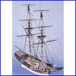 Caldercraft HM Brig Badger 164 Scale Wooden Model Ship Kit 9017