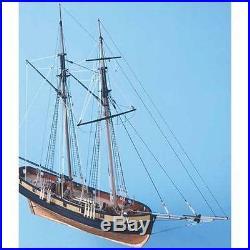 Caldercraft HM Schooner Pickle 1778 Wooden Model Ship Kit 164 Scale