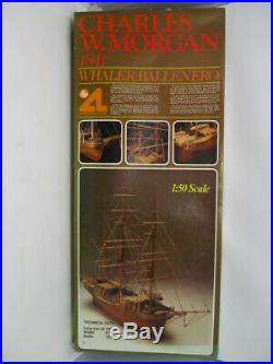 Charles W. Morgan 1841 Whaler Wooden Model Ship Kit 1/50 Artesania Latina #601