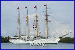 Chilean Navy Esmeralda Training Ship Special Edition 1100 Billing Boats Woode