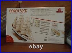 Constructo Gorch Fock Wooden, Plastic & Metal, etc Parts Model Sailing Ship Kit