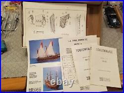 Corel Toulonnaise Wood Ship Model Kit #SM12 175 Rare