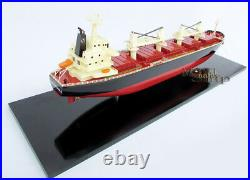 Crested Eagle Handmade Container Wooden Ship Model Display Ready
