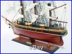 Cutty Sark Clipper Ship Full Assembled 35 Wooden Ship Model