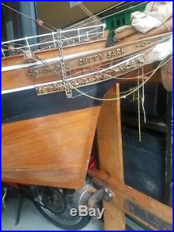 Cutty Sark Large Scale Wooden Ship Model