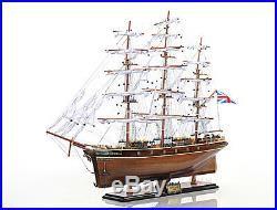 Cutty Sark Wooden China Clipper Tall Ship Model 34 Fully Assembled Boat
