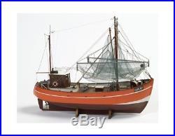 Cux 87 Krabbenkutter Fishing Trawler 133 Scale Billing Boats Wooden Ship Kit