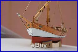 DIY Leudo Trade boat Scale 148 430mm 17 Wood model ship kit