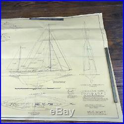 DORADE Crusing Yawl BlueJacket wooden ship model kit 1934 Rare Vintage boat kit