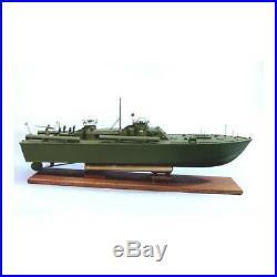 DUMAS 1233 33 Navy PT109 Boat Kit Wood Plastic Model 1/30 Scale FREE SHIPPING